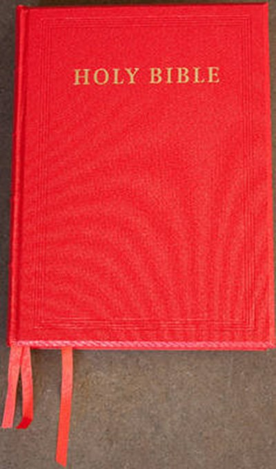 NRSV Lectern Edition NR932:TB Red Imitation Leather