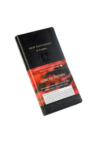 NRSV New Testament and Psalms NR012:NP Black Imitation Leather