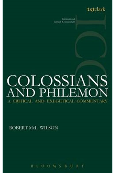 Colossians and Philemon ICC