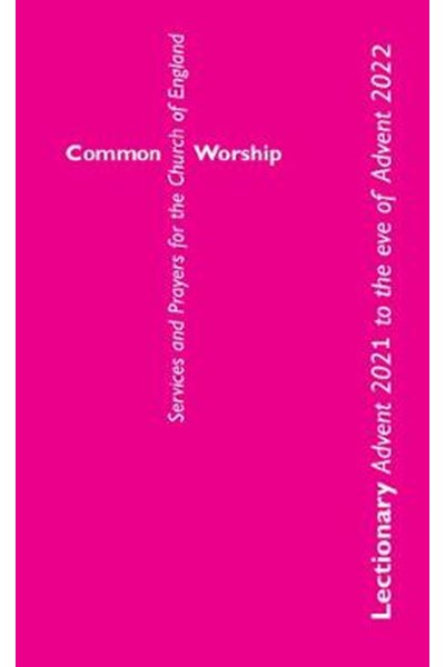 Common Worship Lectionary 2021-22 large edition
