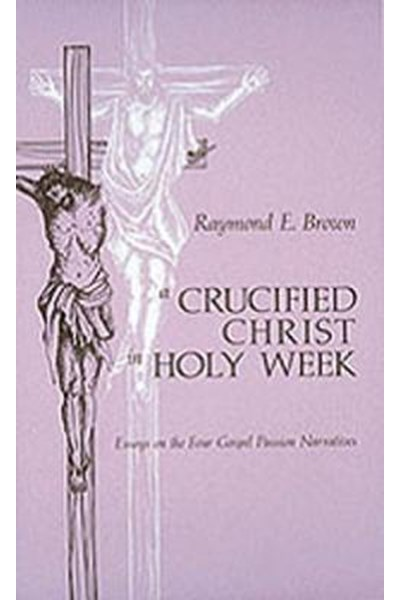 Crucified Christ in Holy Week