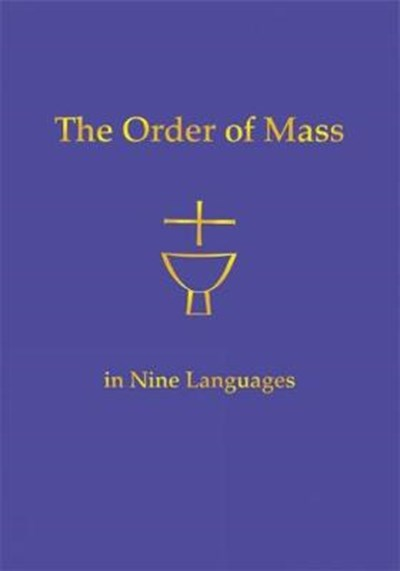 Order of Mass in Nine Languages