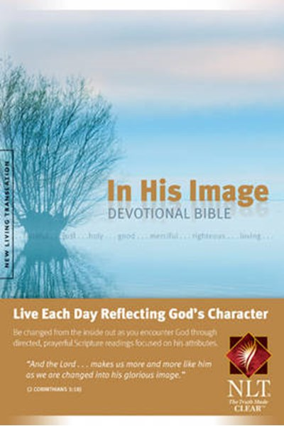 NLT Bible: In His Image Devotional Bible
