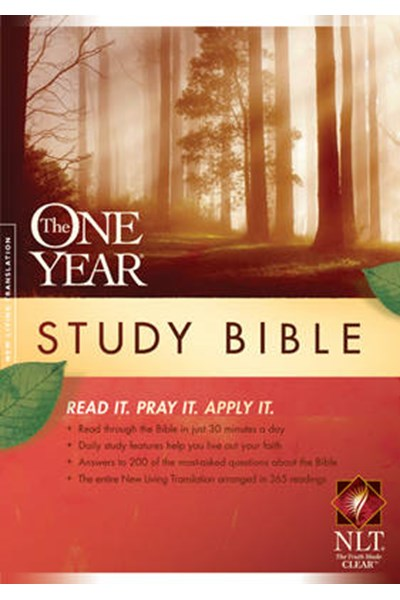 One Year Study Bible NLT