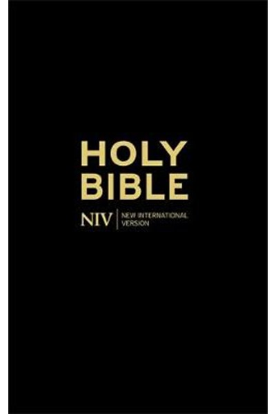 NIV Thinline Black Hardback Bible