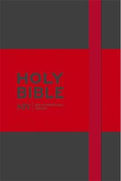 NIV Pocket Grey Notebook Bible