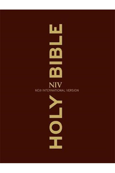 NIV Clear Print Bible