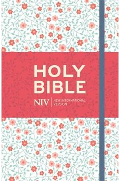 NIV Thinline Floral Cloth Bible