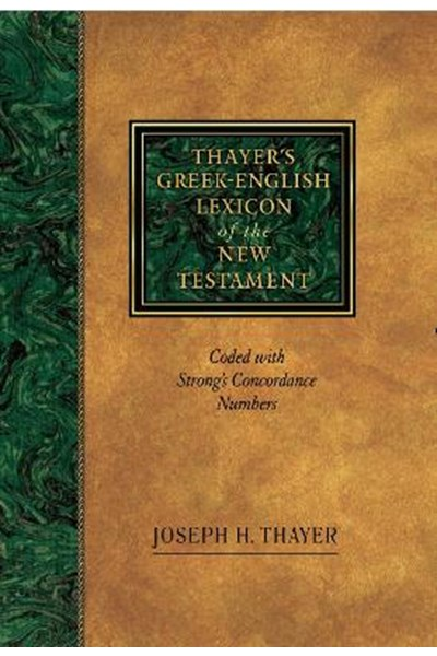 Greek-English Lexicon of the New Testament