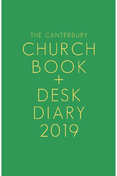 Canterbury Church Book & Desk Diary 2019 Hardback Edition