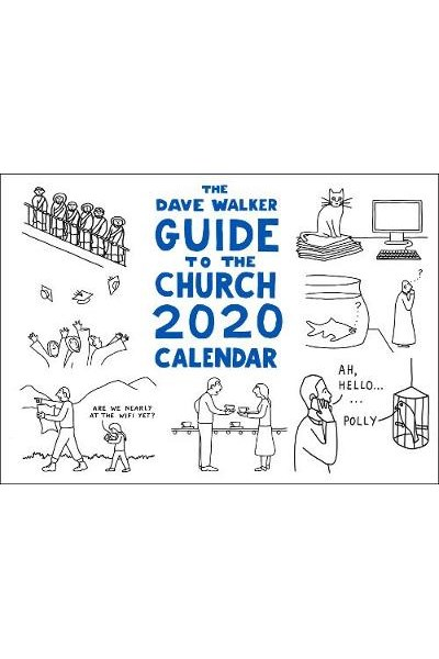 Dave Walker Guide to the Church 2020 Calendar