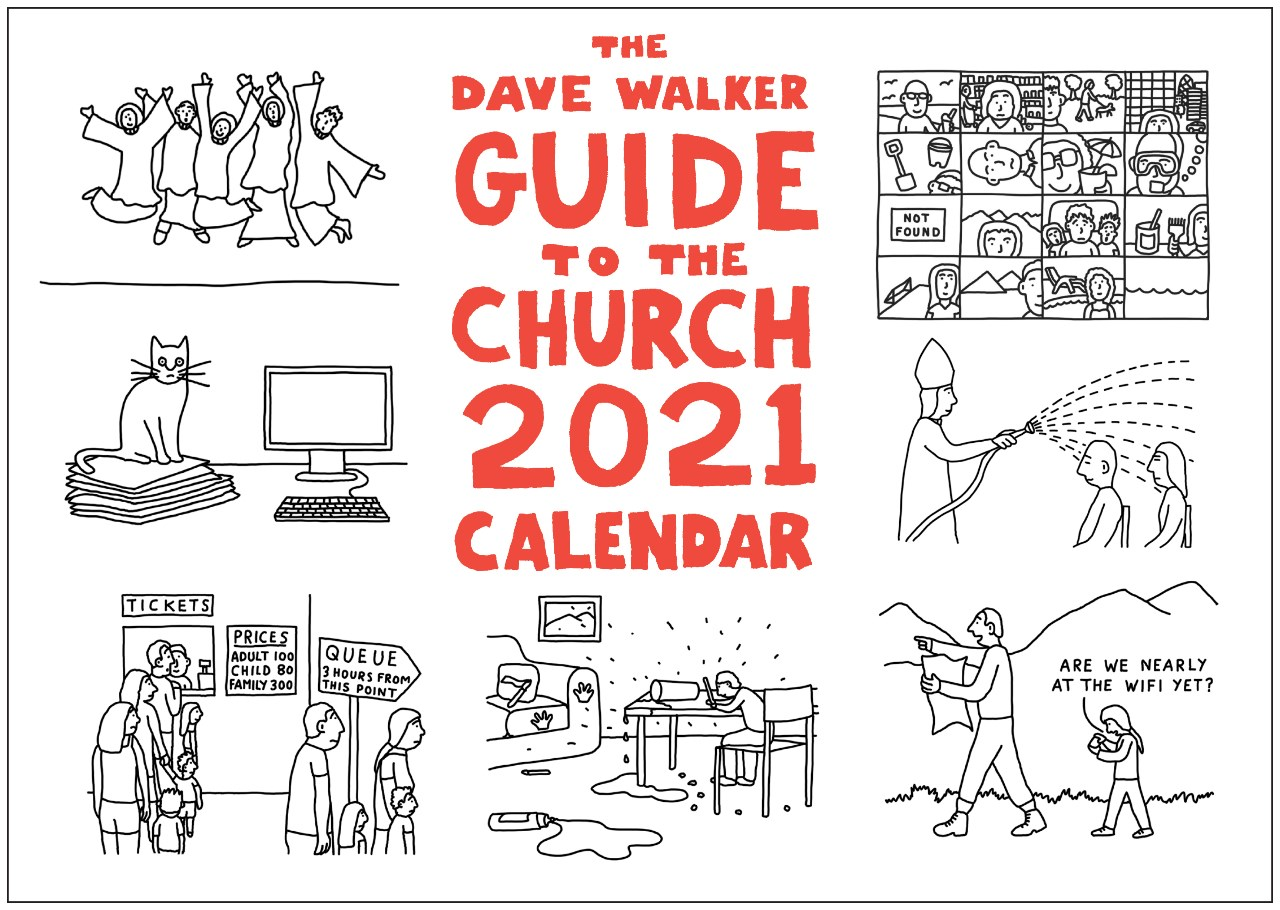 Dave Walker Guide to the Church 2021 Calendar by Dave ...