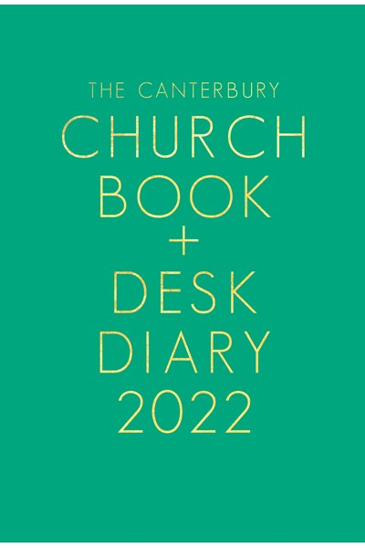 Canterbury Church Book & Desk Diary 2022 Hardback Edition