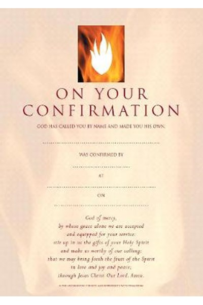 Confirmation Certificates