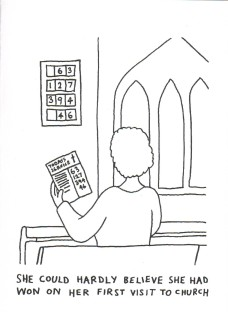 Dave Walker Card: She Could Hardly Believe