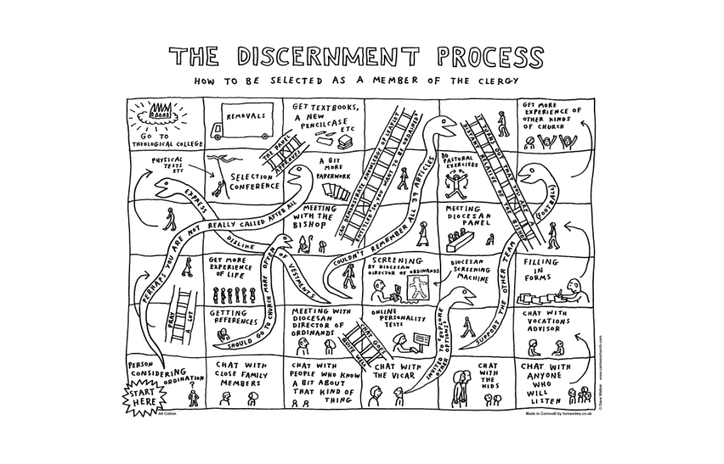 "Dave Walker Tea Towel ""Discernment"""