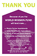 World Mission Fund Collection Envelope