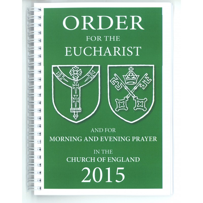 Order for the Eucharist 2015