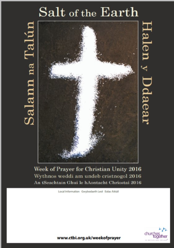 Week of Prayer for Christian Unity 2016 Posters