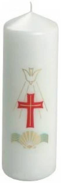 "Baptism Candle (5¾"" x 2¼"")"